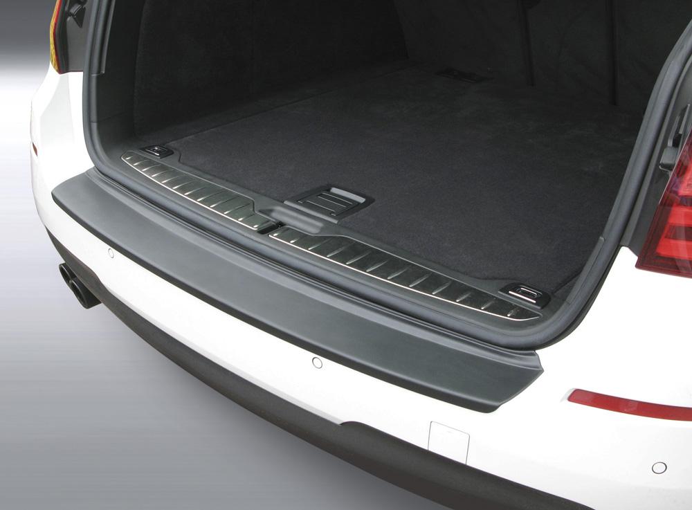 nur f/ür Fahrzeuge mit M Paket Kombi Sto/ßstangenschutz passgenau mit Abkantung ABS Farbe schwarz Aroba AR111 Ladekantenschutz kompatibel f/ür BMW 5er Touring E61 ab BJ 04.2004 bis 04.2010