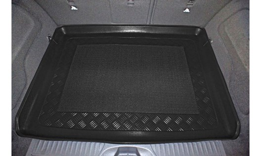Gummierte Kofferraumwanne für Mercedes B-Klasse W246 W 246 Van Kombi 5-türer 23D