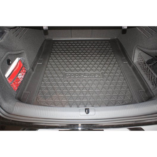Gummierte Kofferraumwanne für Audi A4 Design B9 8W2 Limousine Stufenheck 4-tür1F
