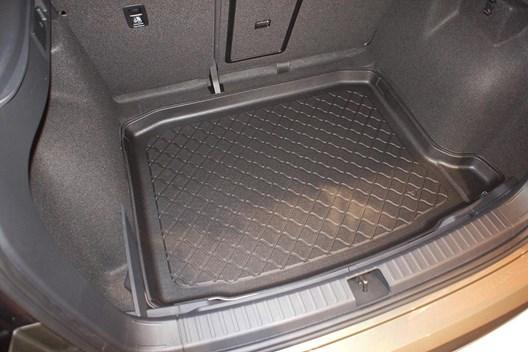 Seat Ateca mit untere Ladefläche Matte Kofferraumwanne Laderaumwanne